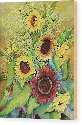 Goldenrod Wood Prints