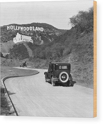 Hollywood Wood Prints