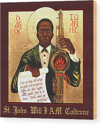 African American Wood Prints
