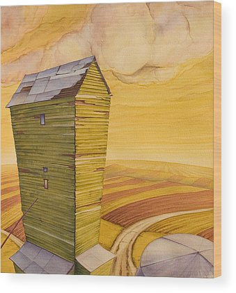 High Plains Wood Prints