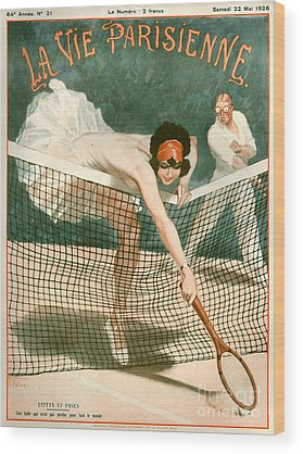 Tennis Wood Prints