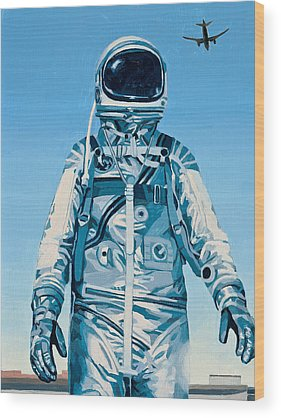Science Fiction Wood Prints