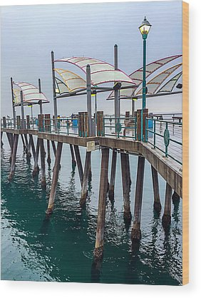 Redondo Beach Pier Wood Prints