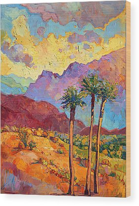 Palms Wood Prints