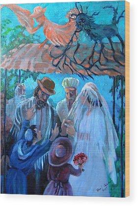 Angels Wood Prints