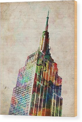 Empire State Building Wood Prints