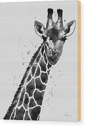 Zoo Animals Wood Prints