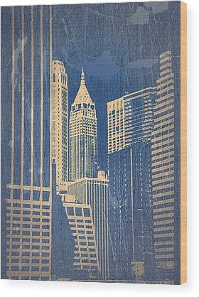 Chrysler Building Wood Prints