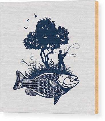 Wooden Digital Art Wood Prints