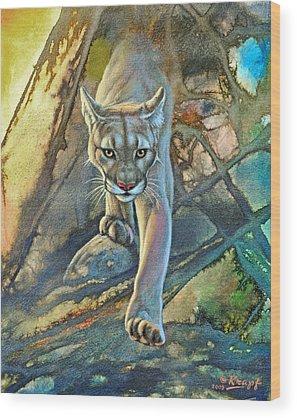 Cougar Wood Prints