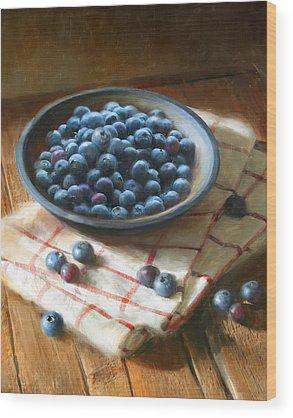 Blueberry Wood Prints