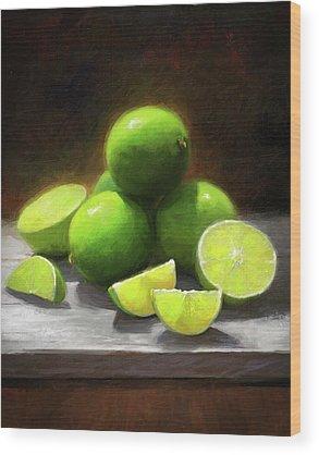 Lime Wood Prints