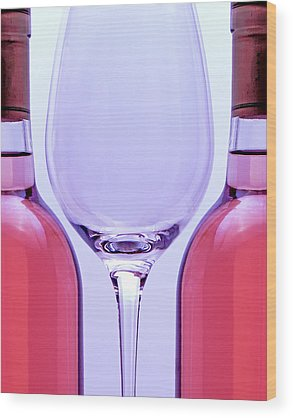 Wineglass Wood Prints