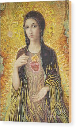 Virgin Mary Wood Prints