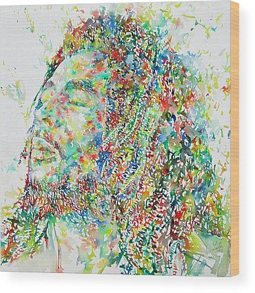 Reggae Wood Prints