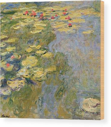 Impressionist Landscapes Wood Prints