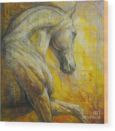 Dark Horse Wood Prints