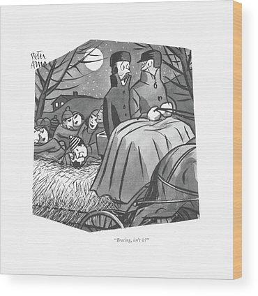 Hay Ride Wood Prints