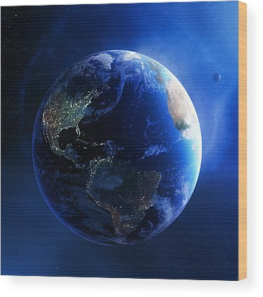 Earth Day Wood Prints