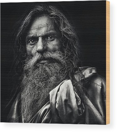 Wise Man Wood Prints