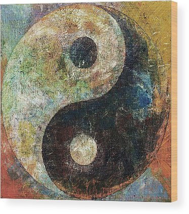 Yin Yang Wood Prints