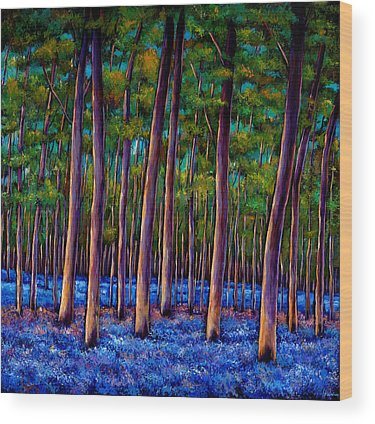 Bluebells Wood Prints