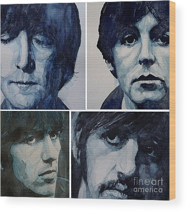 Ringo Starr Wood Prints