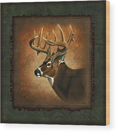 Deer Hunting Wood Prints