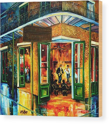 Bourbon Street Wood Prints