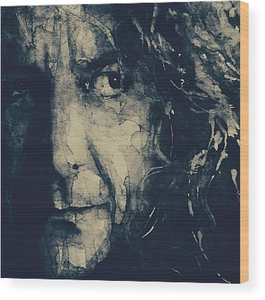 Robert Plant Wood Prints