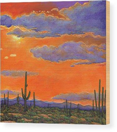 Phoenix Wood Prints