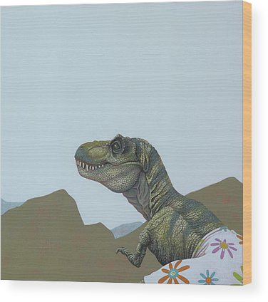 Dinosaur Wood Prints