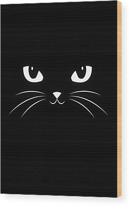 Cool Cat Wood Prints