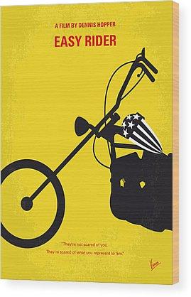 Rider Wood Prints