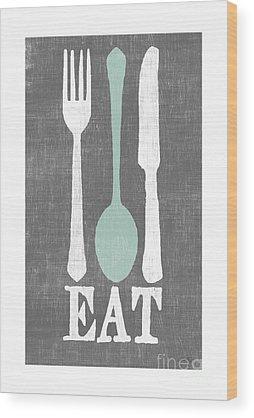 Spoon Wood Prints