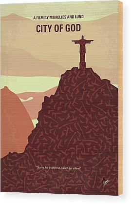 God Of War Wood Prints