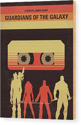Guardians Of The Galaxy Wood Prints
