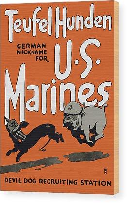 World War 1 Wood Prints