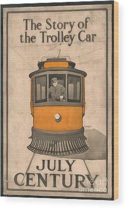 Trolley Wood Prints