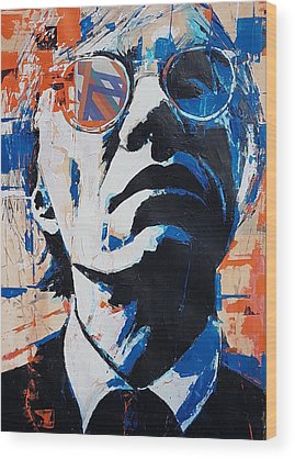 Andy Warhol Wood Prints