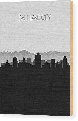 Designs Similar to Salt Lake Cityscape Art