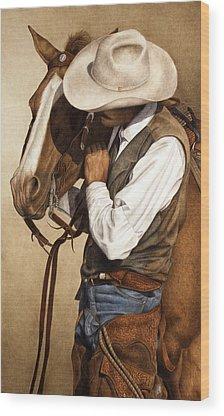 Cowboys Wood Prints