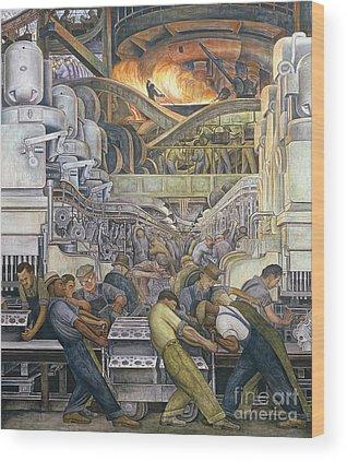 Industrial Wood Prints