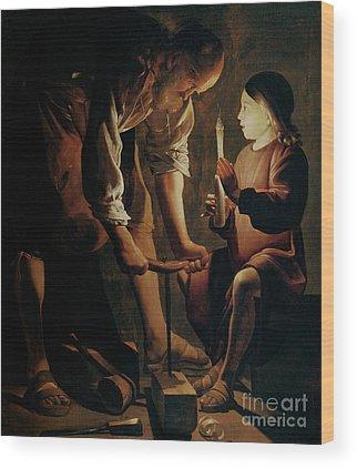 St George Wood Prints
