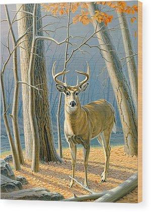Whitetail Wood Prints
