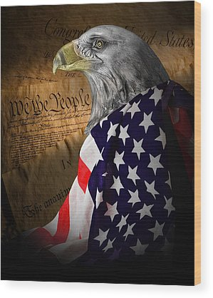 Freedom Wood Prints
