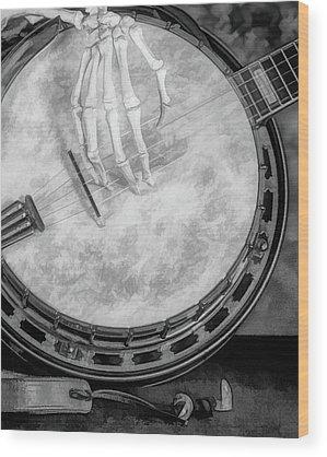 Banjo Wood Prints