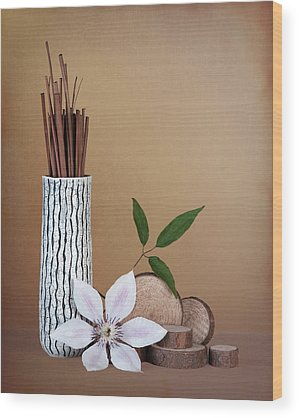 Clematis Wood Prints