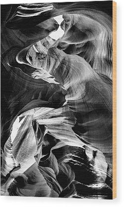 Antelope Canyon Wood Prints