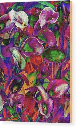 Drops Of Water Wood Prints